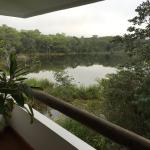 Views of the lake from the balcony