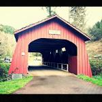Drift Creek Covered Bridge
