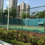 Tennis Courts: 2 hard courts pictured and a third on the other side of the footpath