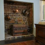 Original kitchen in Eliza Thompson House.  Now a guest room feature.
