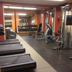 Exercise room is the only part that is not dated