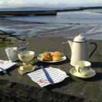 afternoon tea by the sea