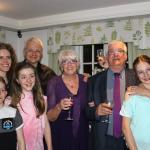Immediate family at Golden wedding