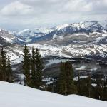 The skiing at Crested Butte is spectacular!