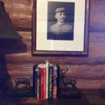 Picture in the cabin of Buckey O'Neill.