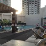 roofdeck pool area