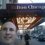 Front of Hilton