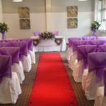 Our ceremony room