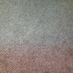 filthy carpet. the perfect looking bit was behind furniture !!