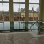 Hydrotherapy pool at the spa