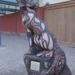 Wolf Statue outside, Canad Inns Destination Centre Club Regent Casino Hotel  |  1415 Regent Aven