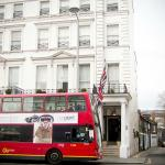Perfect location in South Ken - buss stop just outside the hotel to go to Victoria station with