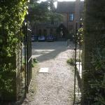 View from the garden gate