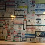 .... the wall of labels