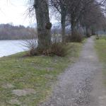 Path along the River Spey near (~200 yards) the hotel