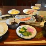 Japanese breakfast - delicious and filling