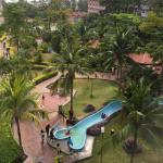Water Park Slide view from our room