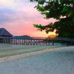 Sunset, Telunas Beach Resort