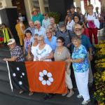 The Group of 23 Probarians, Rotarians and friends from Darwin, Australia saying goodby