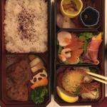 Room service bento doesn't get any better!
