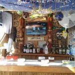 Tiki Bar, free happy hour!
