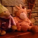 Mascots on the hearth