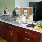 Newly Remodeled Continental Breakfast Area  view 4