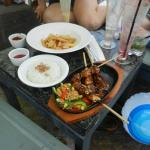 The satay was good too!