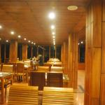 Restaurant - all wooden decorated excellent ambience