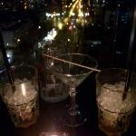Our view from the Skybar