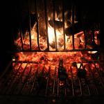 Wood Fired Grill in the Restaurant