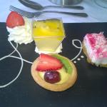 Assiette of Desserts - Yum