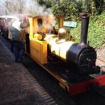 Steam train ride included in your entry ticket price (although donations are welcome)