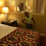 1st bed