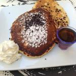 Chocolate Chip Pancakes- only 4 euros!