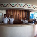Friendly staff in the reception