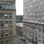 Daytime View from my Room at Courtyard Seattle Downtown/Pioneer Square