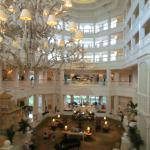 Lobby view of the Hotel