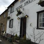 Entrance to The White Swan