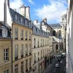 View of rue Saint Sulpice from suite 302/303