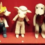 "Lamb Chop and friends from the "" Shari Lewis Show """