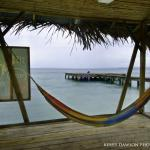 Wonderful hammock on the dock