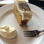 Sweet potato and poppy seed cake