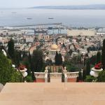 Beautiful Baha'i gardens with 19 lushly landscaped terraces the top entrance of which is a 10 mi