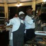 The Chefs from the BEST BBQ ever