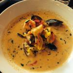 This muceca soup is AMAZING! Better than the paella.