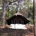 The tent accommodation