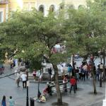 Dancing at Plaza de Armas Square