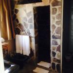 Stone Shower - Polynesian Room