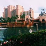 walk from harborside to main resort